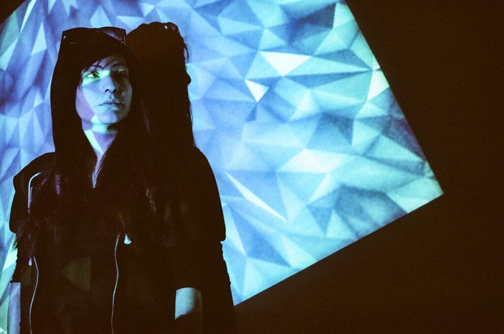 Projector Portrait